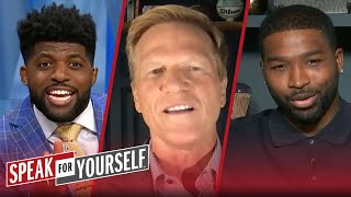 Ric Bucher & Tristan Thompson on Kyrie's praise of Durant | NBA | SPEAK FOR YOURSELF