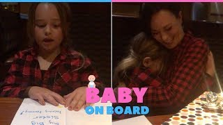 Parents Surprise Daughter With Book Revealing New Baby Sibling
