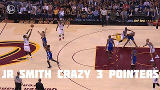 J.R. Smith's Craziest 3 Pointers Made