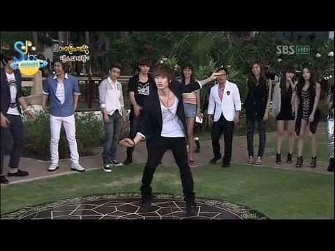 Super Junior Eunhyuk dance explosion in King of Idols HD eng sub