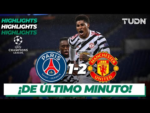 Highlights | PSG 1-2 Man United | Champions League 2020/21 - J1 | TUDN