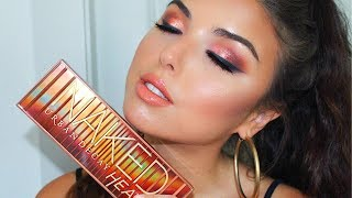 Urban Decay Naked Heat Palette   Full Face Tutorial