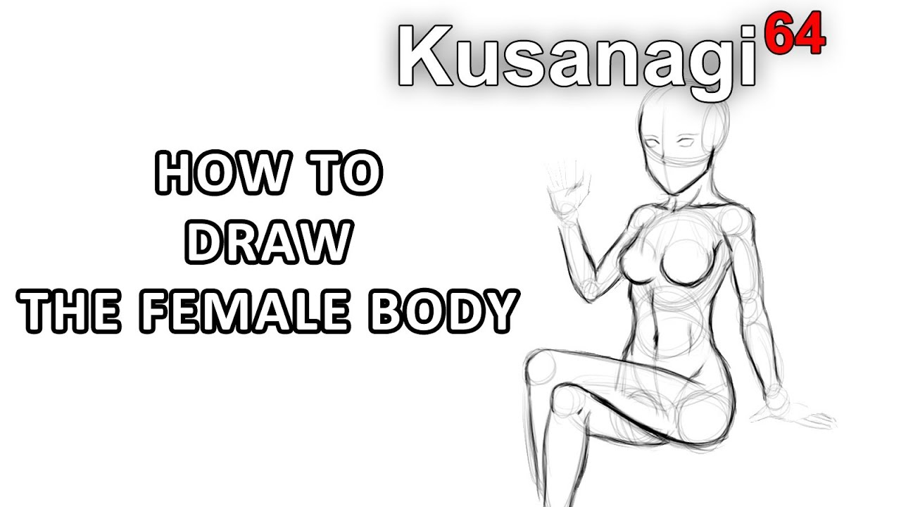 How to Draw a Girl / Woman 's Body - YouTube