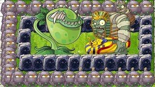 Plants vs Zombies 2 Mod Chomper vs All Wall-Nut vs Gargantuar Fight