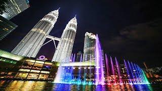 Water Fountain Show | Symphony Lake | KLCC Park | Kuala Lumpur |