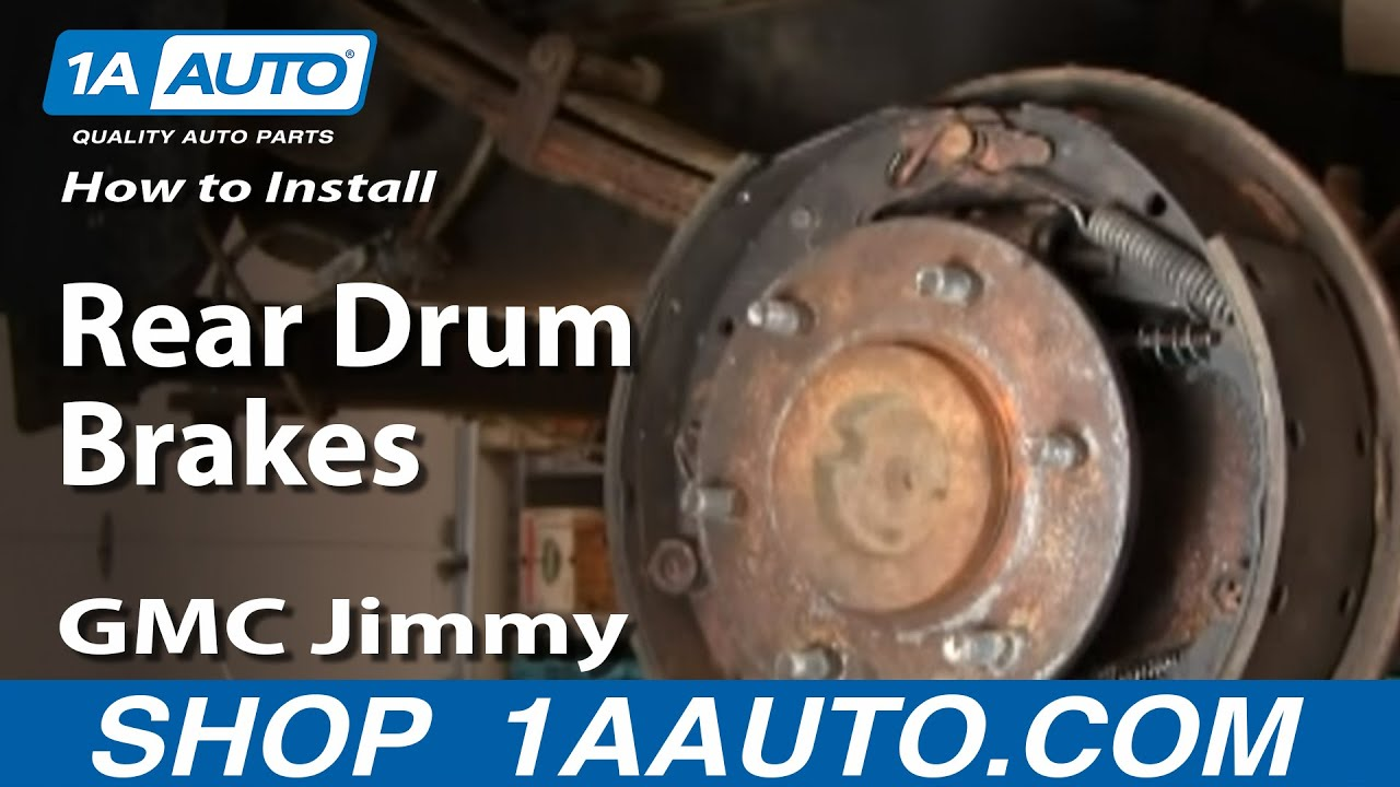 How To Install / Replace Rear Drum Brake Wheel Cylinder GM ...