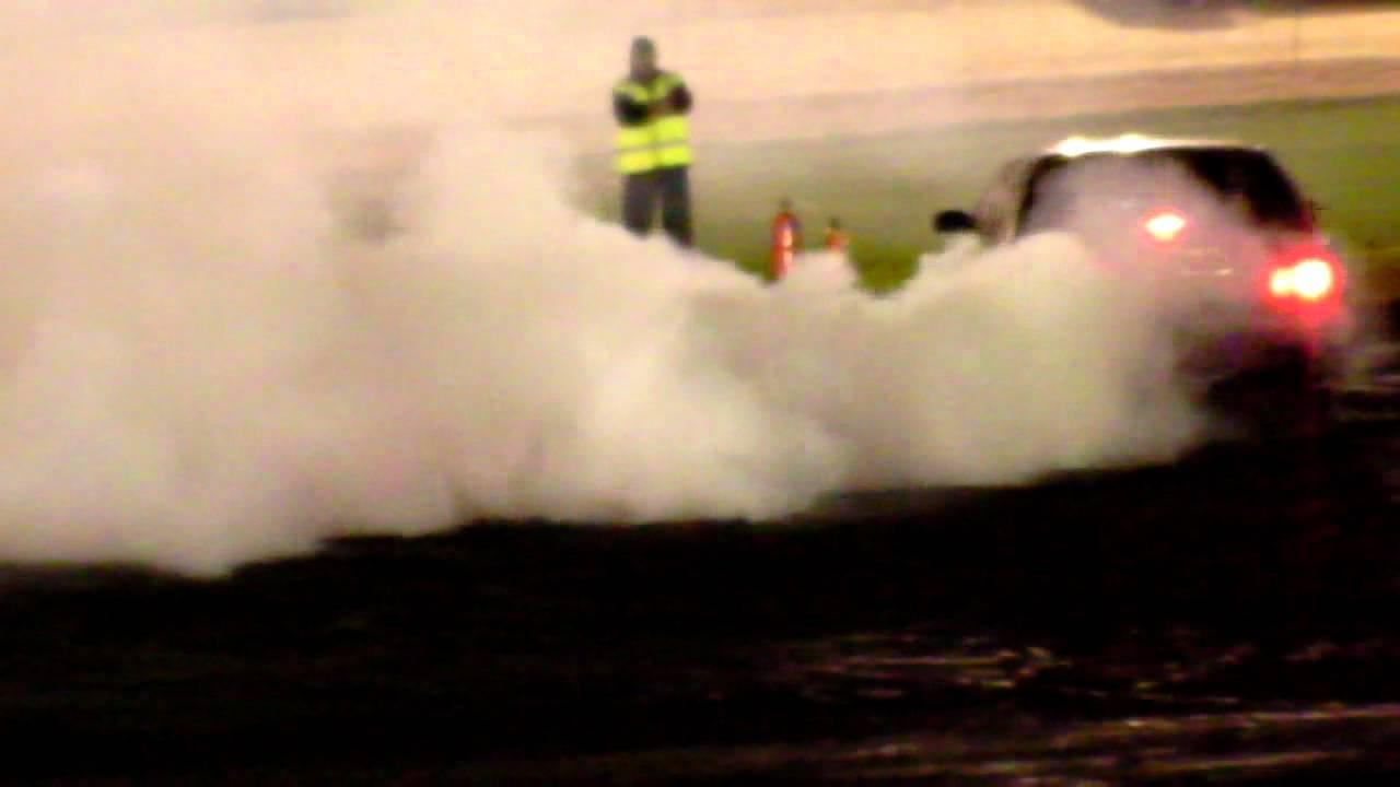 Ford Nc V8 burnout at Speedway City
