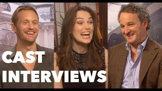 THE AFTERMATH Cast Interviews: Keira Knightley, Alexander Skarsgard, Jason Clarke