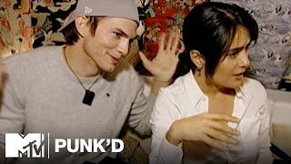 Ashton Kutcher vs. Salma Hayek, Eva Longoria & Mario | Punk'd
