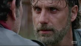 The Walking Dead 7x16 Shiva saves Rick and Carl