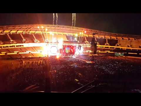 Coldplay concert in Seoul, South Korea 2017