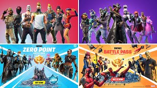 ALL FORTNITE BATTLE PASS TRAILERS (Seasons 2 – 15)