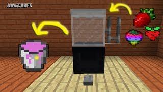 Minecraft: Làm Máy Xay Sinh Tố Hoạt Động Được