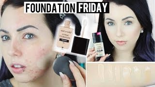 NEW! $6 Wet N Wild PhotoFocus FOUNDATION Acne/Pale Skin {First Impression Review, Demo, Swatches}
