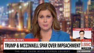 Trump & McConnell Spar Over Senate Impeachment Strategies