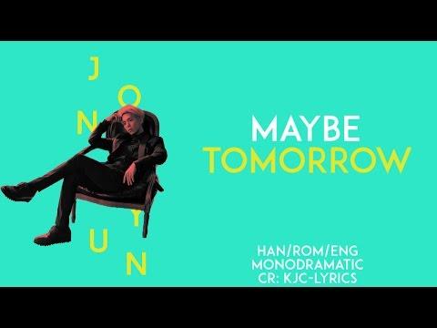 Jonghyun (종현) - 내일쯤 (Maybe tomorrow) (Han|Rom|Eng)