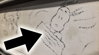 Charles M. Schulz drawing RECOVERED 20 YEARS LATER!