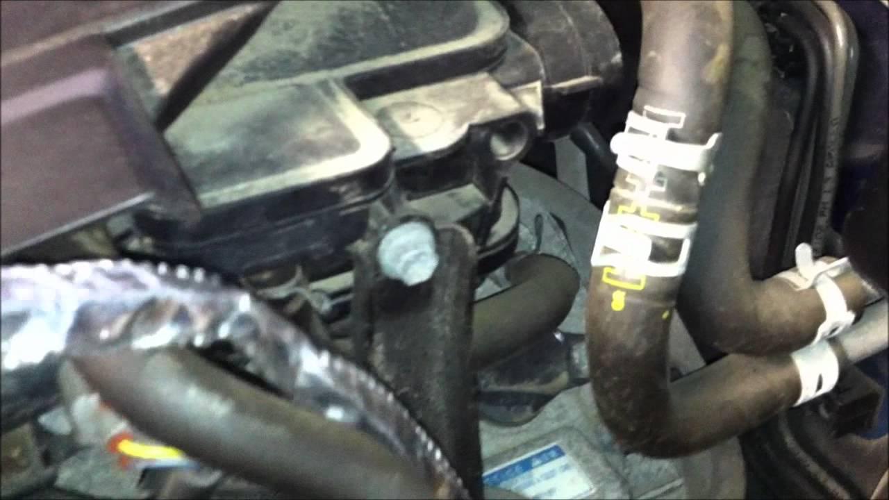 Toyota echo block heater install