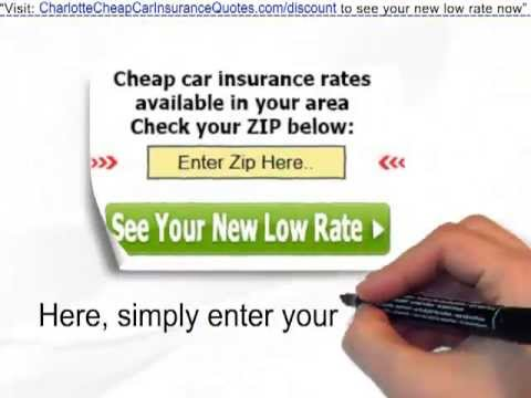 Auto Insurance Quotes Charlotte | Get Car Insurance In Charlotte At Half-Price