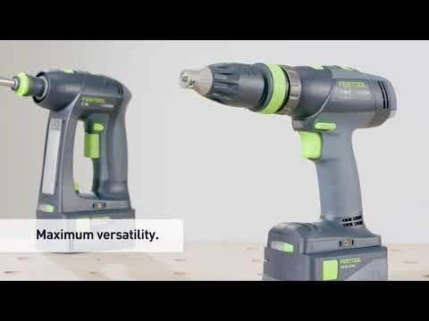 Festool Cordless Drill T18+3LI 18v Drill Body Only in systainer 574763