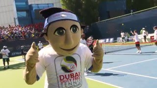 ATP Doubles Stars Delight Youngsters at Tennis Emirates-Head Clinic