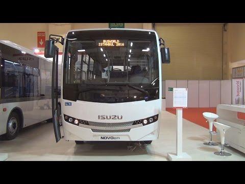 Isuzu NovoCiti 4HK1E6C Bus (2016) Exterior and Interior in 3D