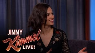 Naomi Scott on Throwing the First Pitch