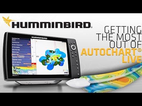 Humminbird Auto Chart Live