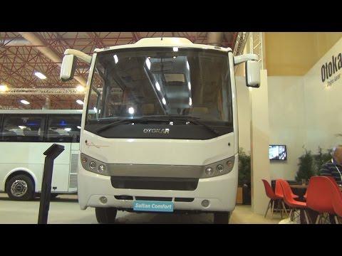 Otokar Sultan Comfort 140 S Bus (2016) Exterior and Interior in 3D