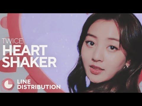 TWICE - Heart Shaker (Line Distribution)
