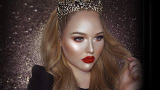 FULL FACE USING ONLY HIGHLIGHTERS Challenge   NikkieTutorials
