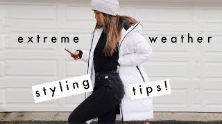 HOW TO STAY WARM & CUTE THIS WINTER | Style Tips