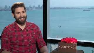 John Krasinski Interview: A Quiet Place (2018)