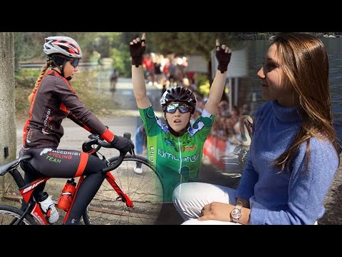 """Valentina Basilico a """"Cicliste in streaming"""""""