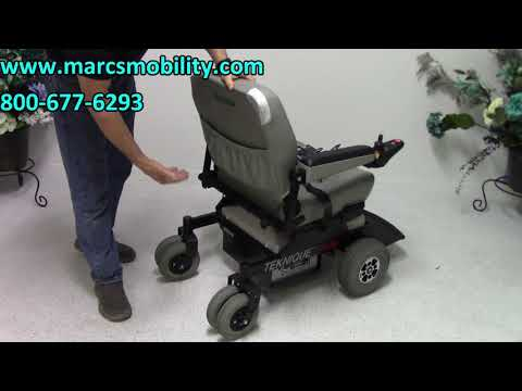 Hoveround XHD  #2337 - Heavy Duty Power Chair - Marc's Mobility - Large Power Chair Seat