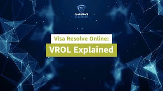 Visa Resolve Online