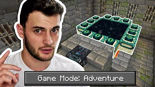 Can You Beat Minecraft in ADVENTURE MODE?