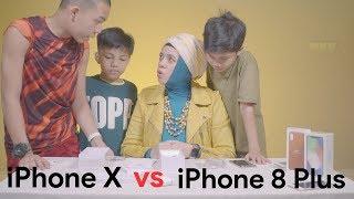 iPhone X vs iPhone 8 Plus, Mana Yang Lebih Baik? Versi Gen Halilintar
