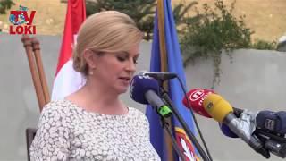 Svečano otkrivanje spomenika na Ljubovu: Govor Kolinda Grabar-Kitarović 04.08.2018.