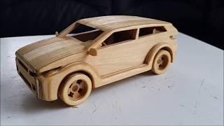 Làm thế nào để tạo xe hơi bằng gỗ ?  Small TP