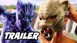 Black Panther Trailer 2 - Infinity War and Captain America Theory