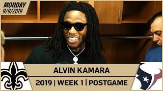Alvin Kamara Talks Mental Toughness in Win vs Texans | New Orleans Saints