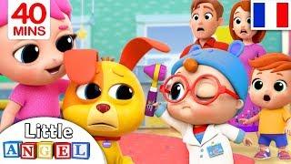 Comptine Bébé Joue au Docteur - Dessin Animé 40 Min de Comptines pour les petit enfants