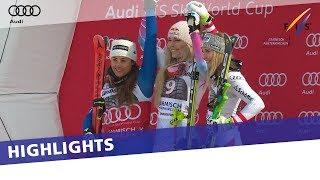 Lindsey Vonn seals her 80th World Cup win in first Downhill in Garmisch | Highlights