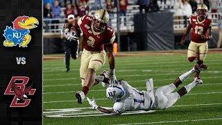 Kansas vs. Boston College Football Highlights (2019)