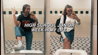 a week in my life as a typical stressed high schooler *VLOG*