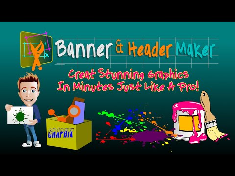Banner & Header Maker - Create Professional Web Banner In few Clicks
