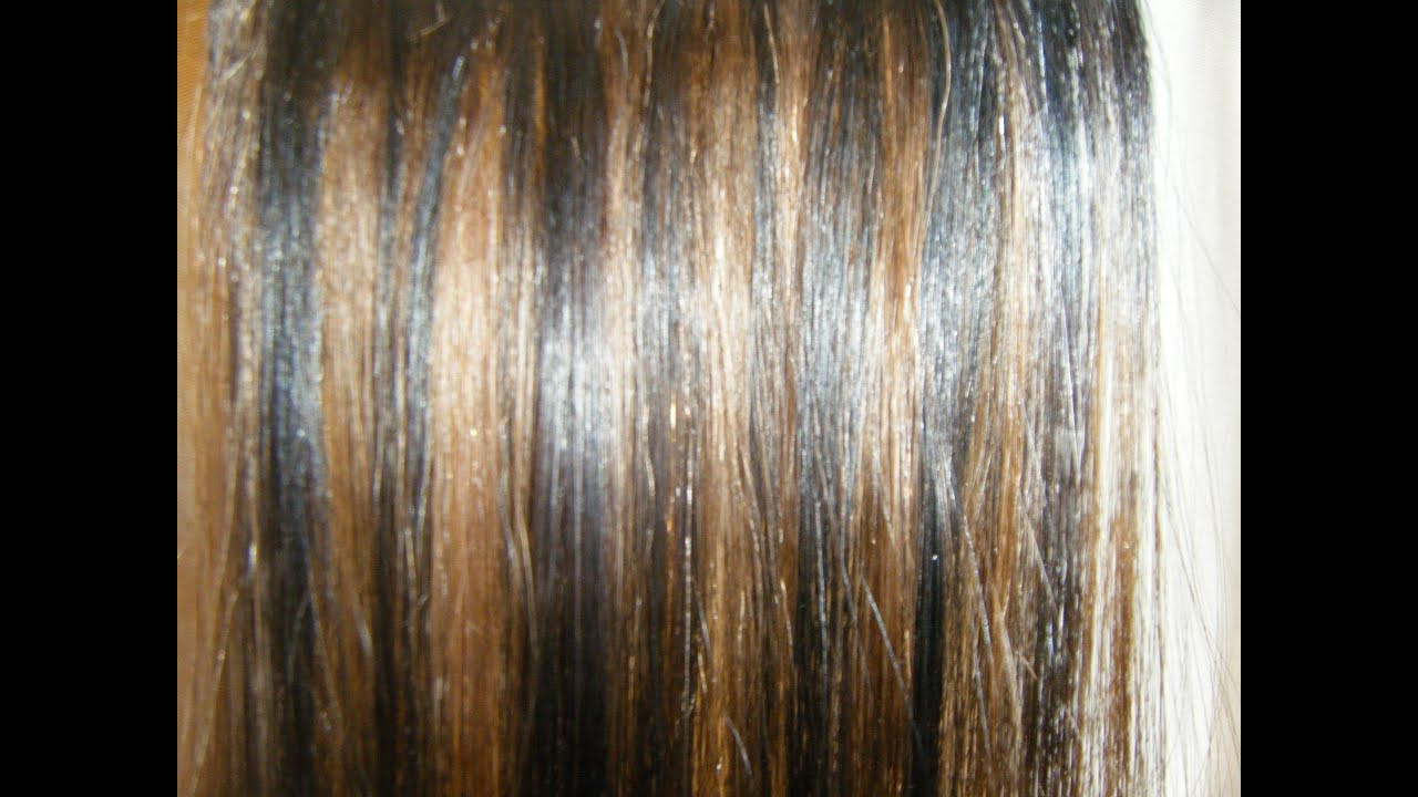 Como Pintar En Extensiones De Cabello Rayitos Youtube