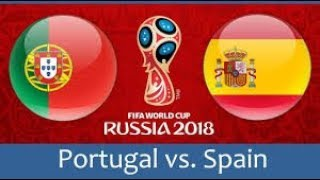 Spain vs portugal all goals 15/06/2018