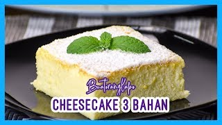 Cotton Cheesecake 3 bahan - Sila baca description | Cotton Cheesecake with only 3 ingredients